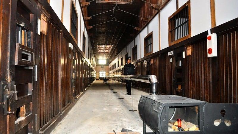 Prison Cells, Abashiri Prison Museum, Hokkaido ©David mcKelvey