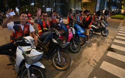 Bangkok's Motorcycle Taxi Drivers Become Rebel Alliance with Thai Democracy Protestors