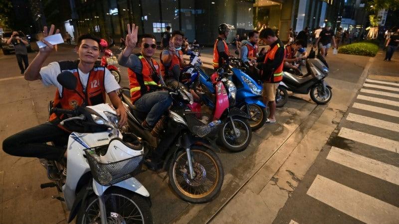 Pro-democracy Protesters Aid