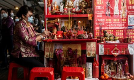 Hong Kongers Using Ancient Ritual to Curse and Vent Political Hatred