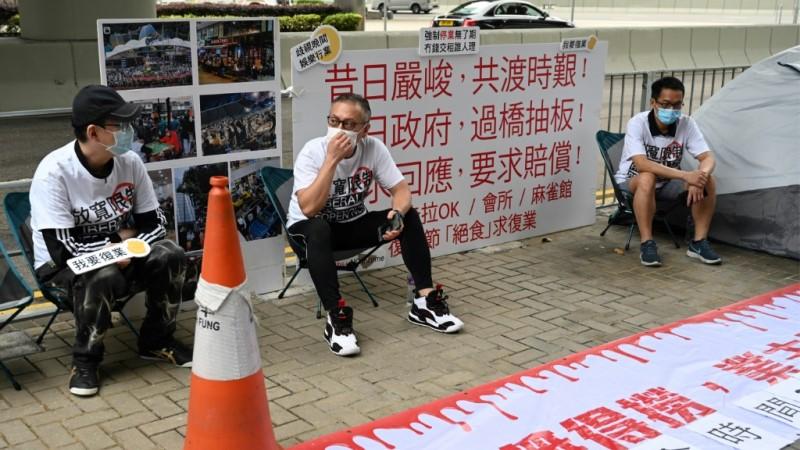 Protest Against Coronavirus Closure