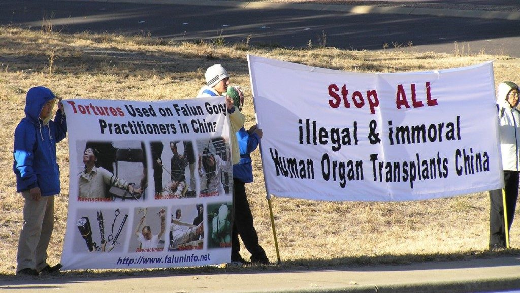 Protest Organ Harvesting in China - Australia