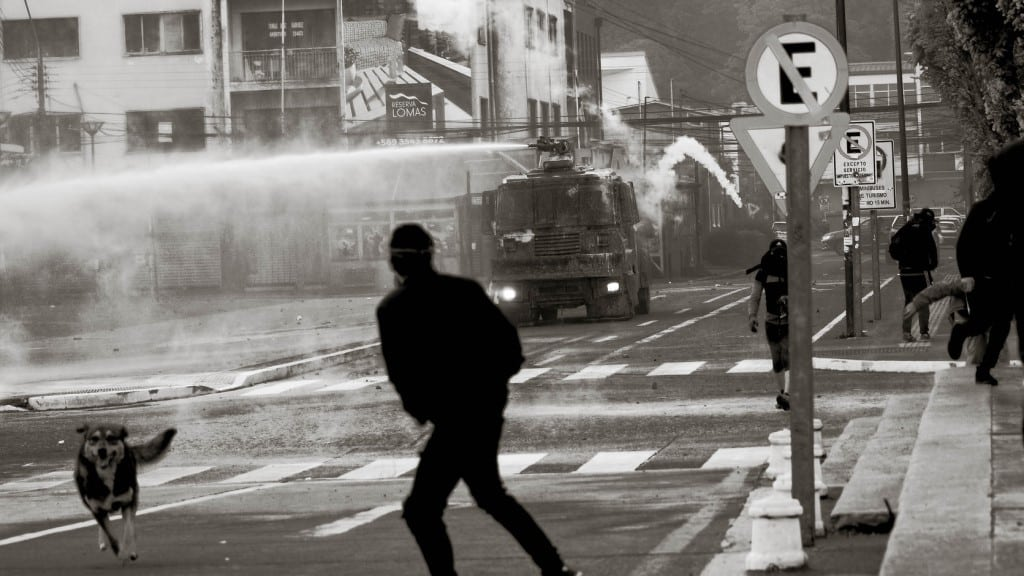 Protest in Chile ©CameraMemories