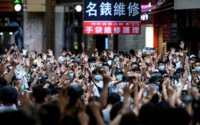 Biden Blames 'Weak' Trump for Hong Kong Clampdown