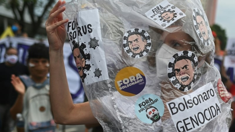 Protests Against Brazilian President's Handling of Pandemic