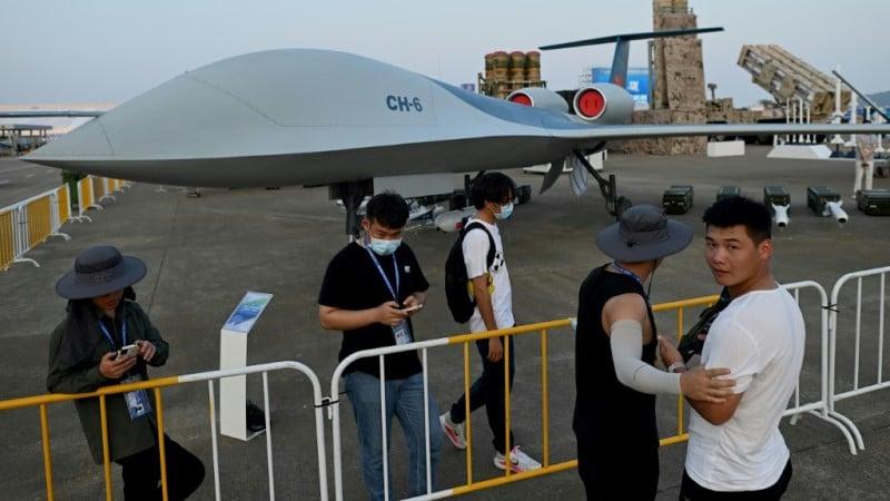 Prototype surveillance drone