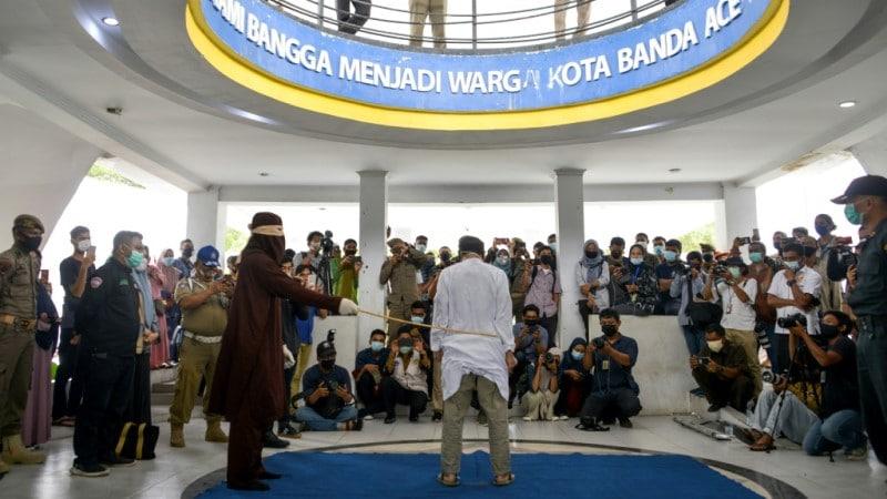 Public Flogging in Aceh