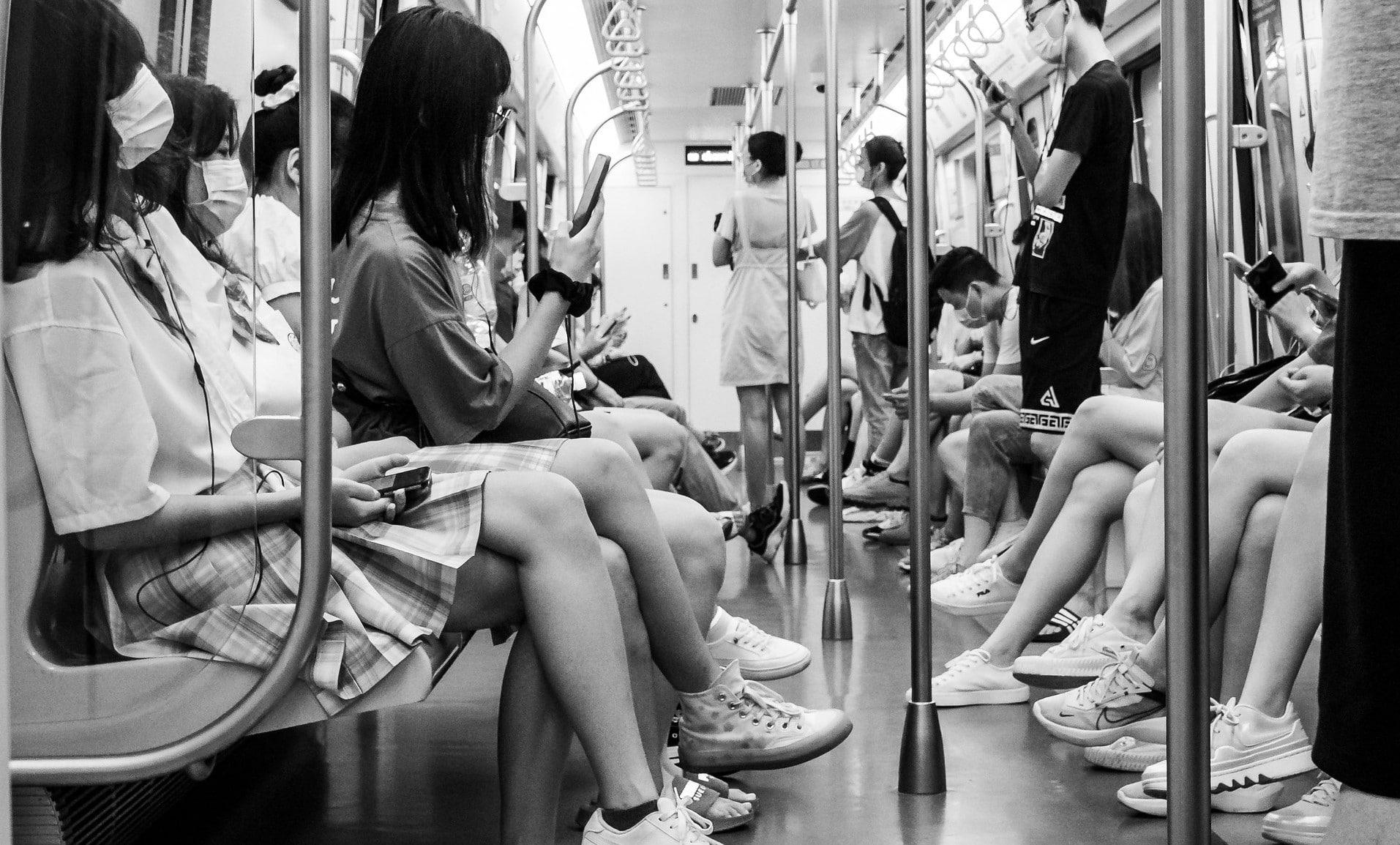 Qingdao Metro, China ©Gauthier Delecroix