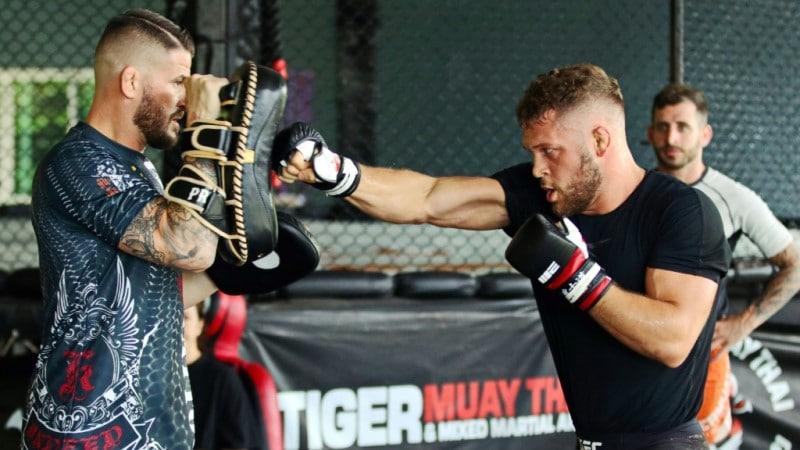 Rafael Fiziev at Tiger Muay Thai