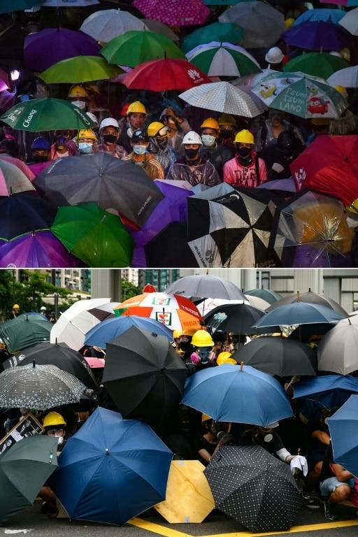 Rally in Bangkok and Hong Kong