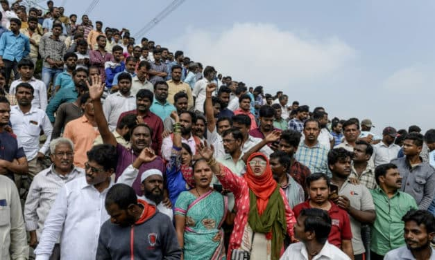 Celebrations in India After Police Kill Rape-Murder Suspects