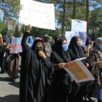 Afghan Women Call for Respect in Rare Protest