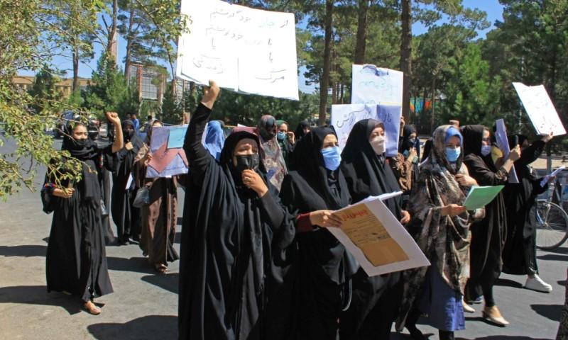 Rare Protest in Herat