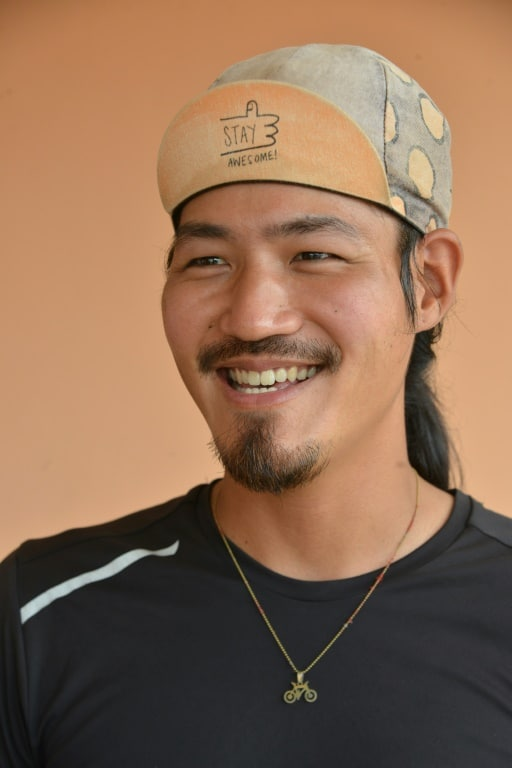 Raymund Lee Stranded in Guinea by the Pandemic.afp