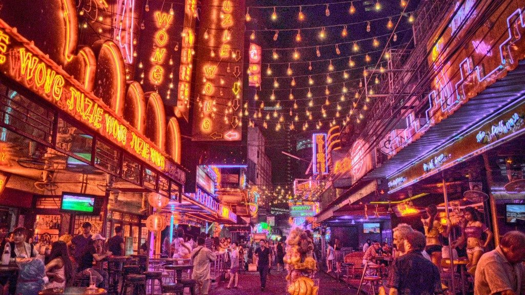 Red Light District - Bangkok