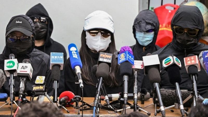Relatives of Hong Kong Democracy Activists