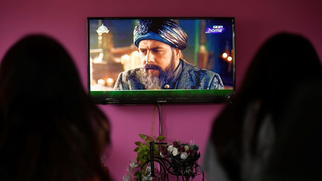 Resurrection Ertugrul a Smash Hit in Pakistan.afp