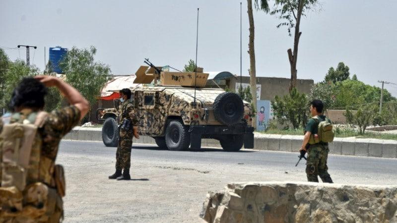Road in Kandahar Afghanistan