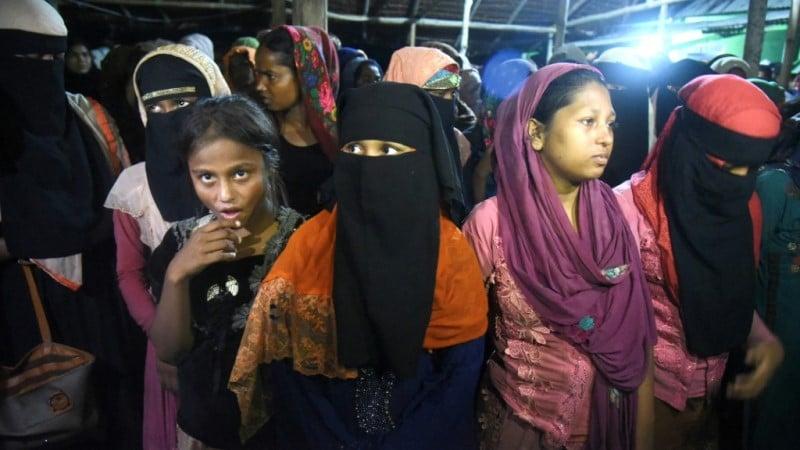 Rohingya Women Refugees