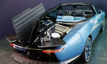 Rolls-Royce Drives Up Car Luxury with 'Boat Tail'