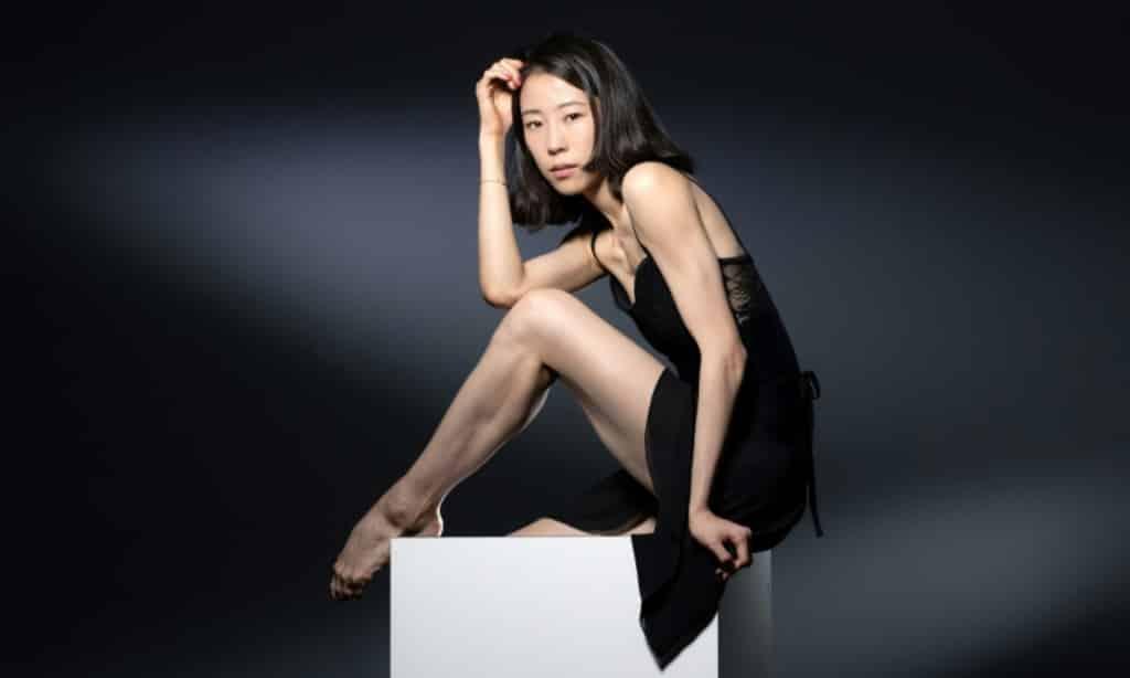 Sae Yun Park of Paris Opera Ballet ©AFP