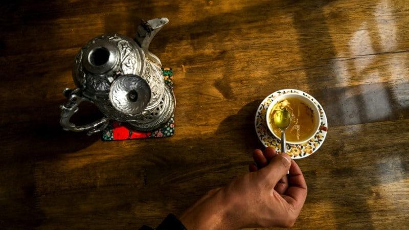 Saffron Used for Tea
