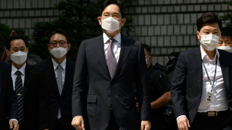 Samsung Heir Lee Jae-yong.afp
