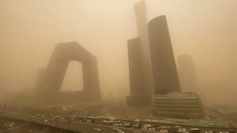 Sandstorm from Northern Mongolia