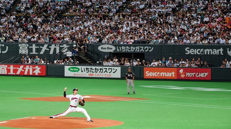 Sapporo Dome - 投手丘上的大谷翔平 CC - Scott Lin