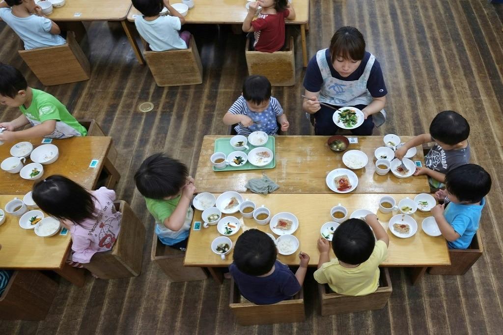 School Lunch in Japan©AFP