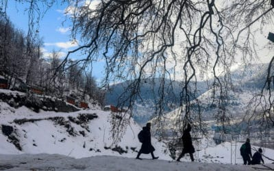 Grueling Journey to Kashmir's Remote Mountain Town to Get Online
