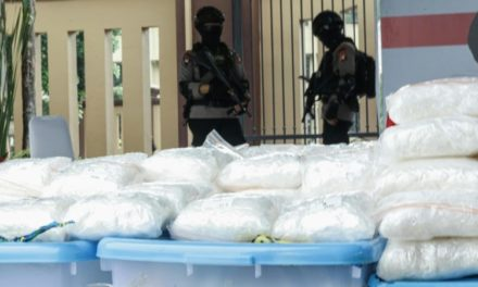 Indonesia Police Seize Meth Worth $82 Million, Arrest 17