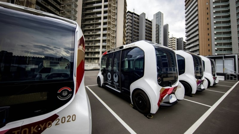 Self-Driving Shuttle Buses
