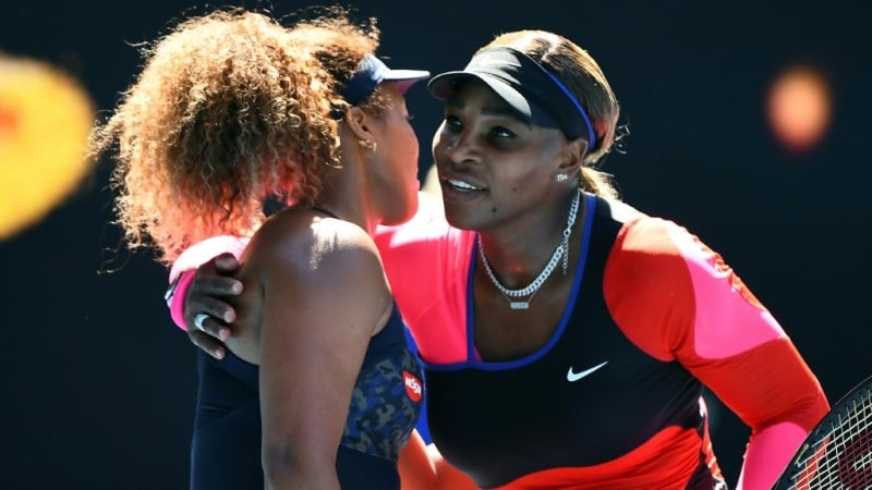 Serena Williams Congratulates Naomi