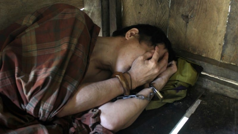 Shackling Cases in Indonesia