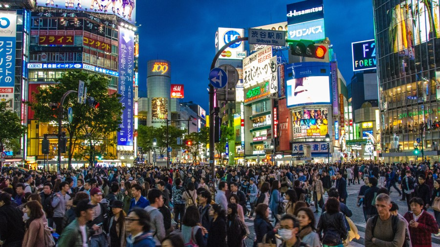 Shibuya District - Japan