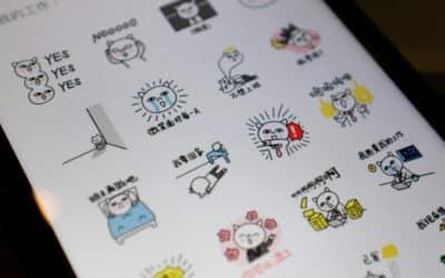 Artists Cashing In on WeChat Sticker Craze