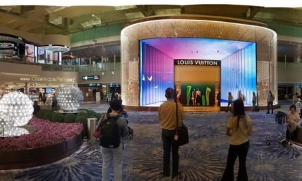Singapore: Airport Jewel Changi Stands Pretty and Tall