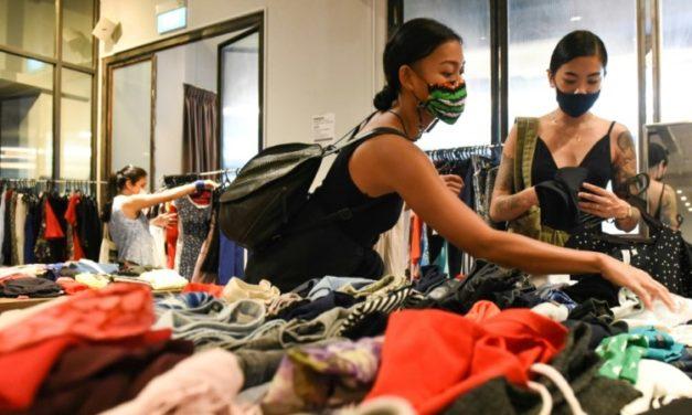 Singapore Swap Shops Offer Alternative to Fast Fashion