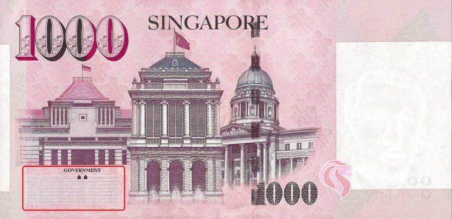 Singapore $1,000 Bill