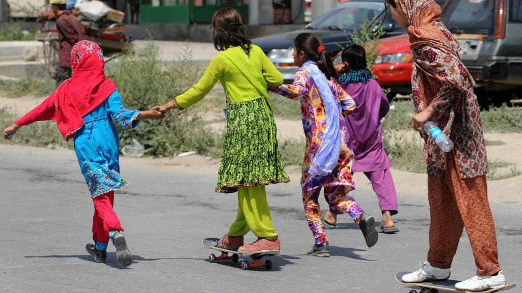 Skateistan Won Best Documentary at the Oscars.afp