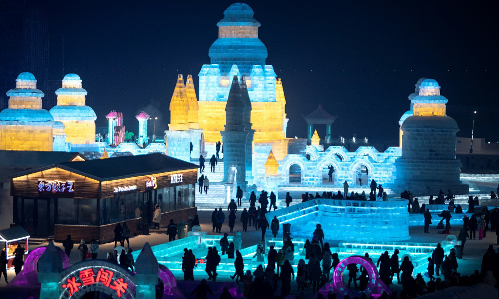 Snow and Ice Festival China.afp