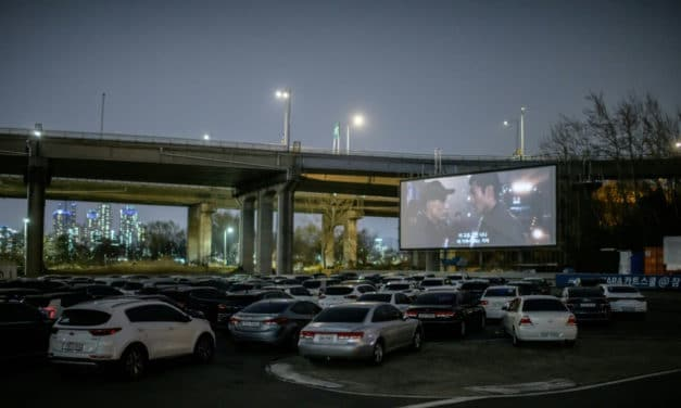 Sales Boom for South Korea Drive-in Cinemas Amid Social Distance