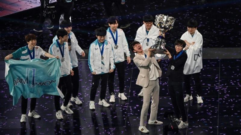 South Korea's Damwon Team