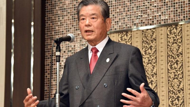 Sports Administrator Saburo Kawabuchi