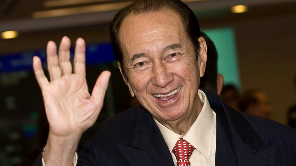 Stanley Ho's Family Empire Nearly $15 Billion Worth.afp