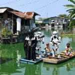Going Solo: Star Wars Fans Help to Maintain Distancing in Manila