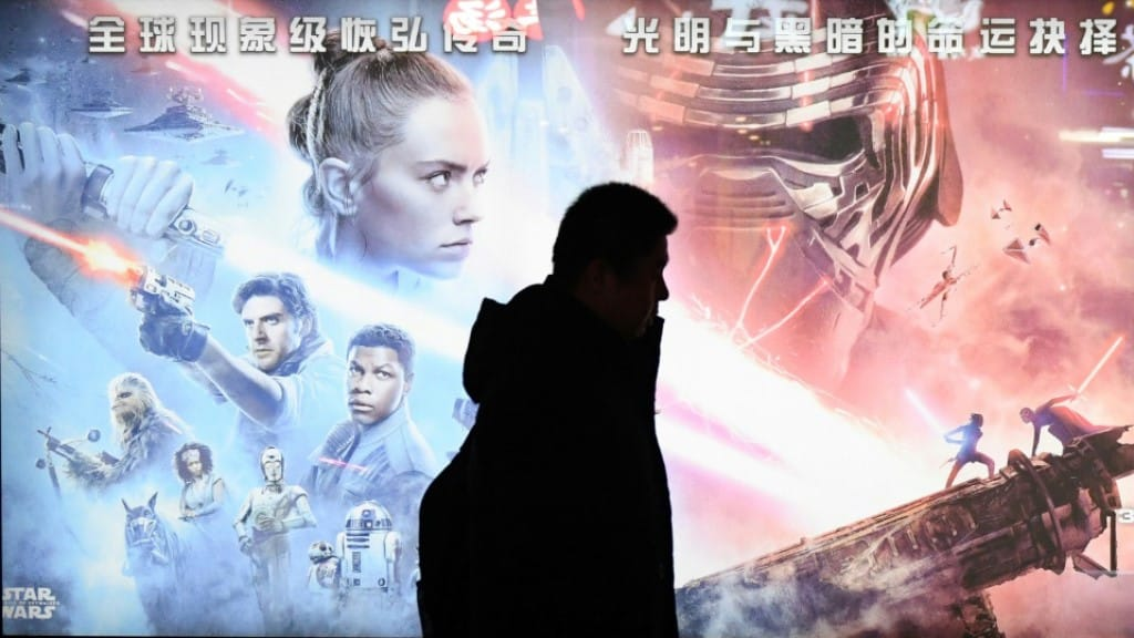 Star Wars in China.afp