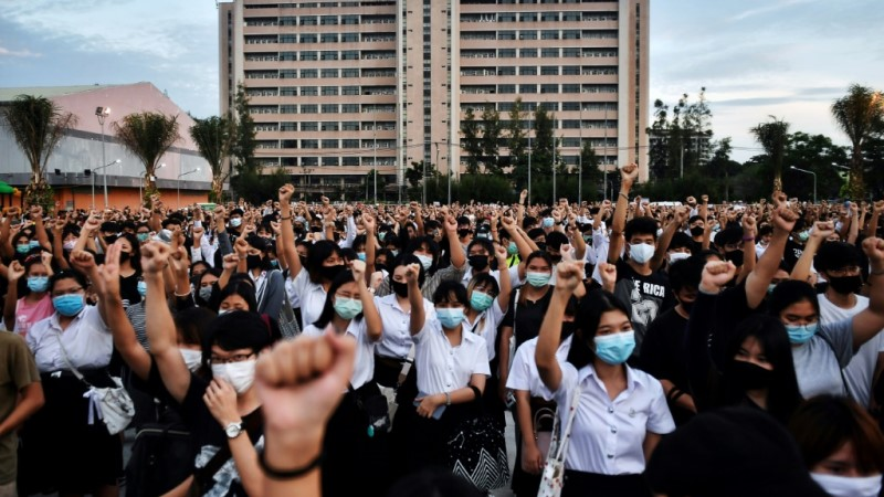 Student Protesters in Thailand