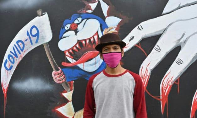 Scythes and Monsters: Indonesian Artists Create Coronavirus Artwork